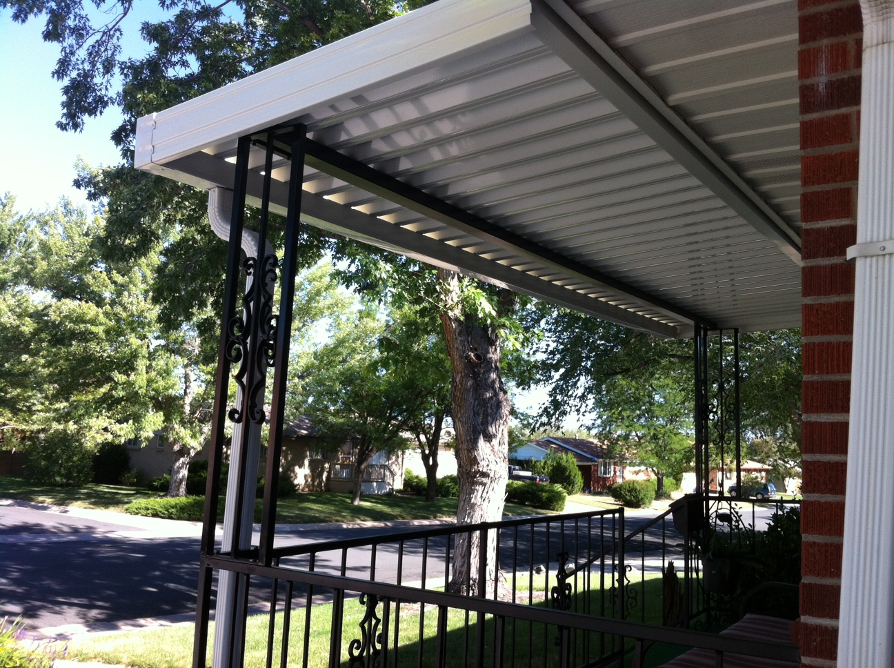 cover patios for panels metal awning awnings impressive images polycarbonate patio