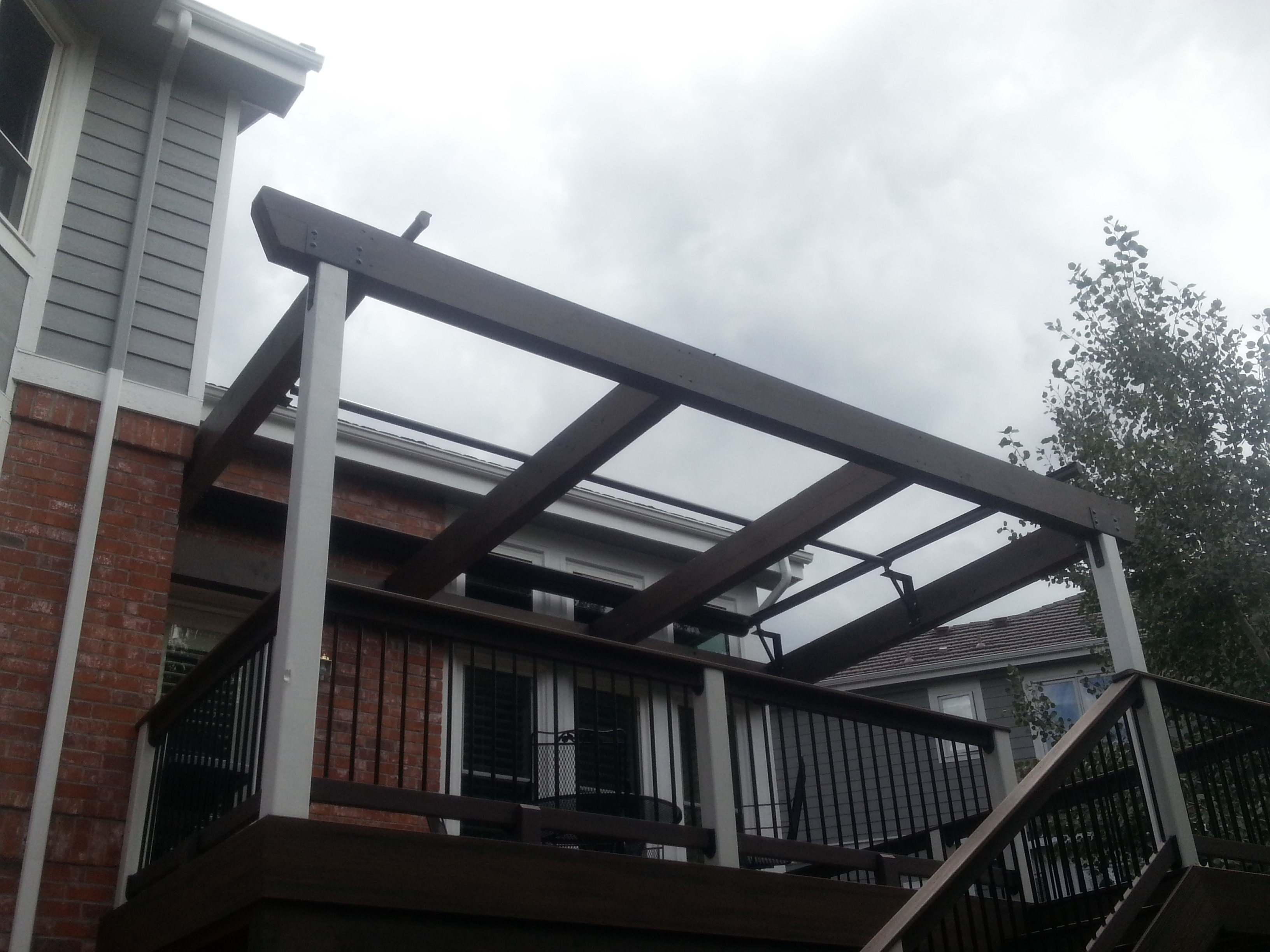 Retractable Rooftop Awnings